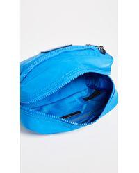 Rebecca Minkoff - Blue Nylon Cosmetic Pouch - Lyst