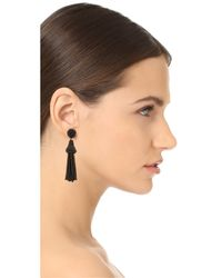 Deepa Gurnani - Black Deepa By Rose Earrings - Lyst