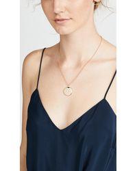 Shashi - Metallic Starburst Locket Necklace - Lyst