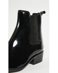 Jeffrey Campbell - Black Stormy Rain Booties - Lyst