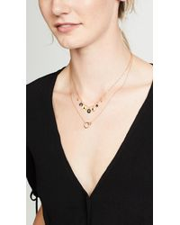 Chan Luu - Multicolor Short Necklace With Mixed Charms - Lyst