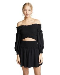 Ali & Jay - Black Bumble Date Two Piece Dress - Lyst