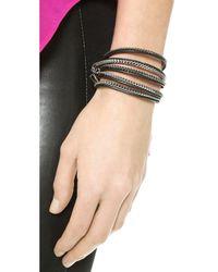 Vita Fede Metallic Capri 5 Wrap Bracelet
