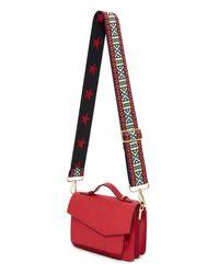Carrie'd NYC - Red Jenna Adjustable Handbag Strap - Lyst