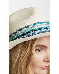 Jaunt - Blue The Mallorca Large Brim Panama Hat - Lyst