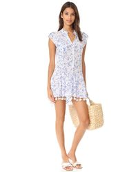 Poupette - Blue Heni Mini Dress - Lyst