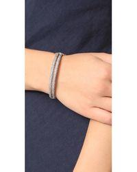 Maha Lozi | Metallic Breakfree Bracelet | Lyst