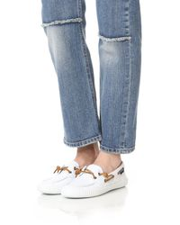 Sperry Top-Sider - White Sayel Away Boat Shoes - Lyst