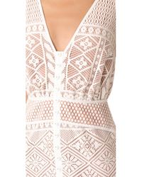 We Are Kindred - White Darling Dahlia Maxi Dress - Lyst