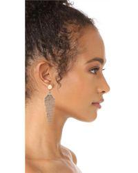 Lulu Frost - Metallic Claude Earrings - Lyst