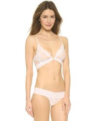 Only Hearts - Pink So Fine Lace Bralette - Lyst