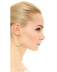 Alexis Bittar - Metallic Pavé Spike Stone Cluster Earrings - Lyst