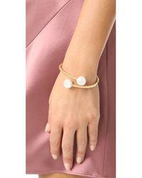 Kate Spade - Multicolor Golden Girl Bauble Cuff Bracelet - Lyst