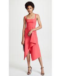 Dion Lee - Pink Bustier Dress - Lyst
