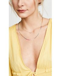 Shashi - Multicolor Sam Chain Necklace - Lyst