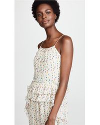 INTROPIA - Multicolor Polka Dot Gown - Lyst