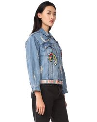 Etienne Marcel - Blue Julia Decorated Jacket - Lyst