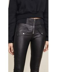 RTA - Black Zelda Pants - Lyst