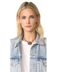 Ela Rae - Multicolor Moonstone Pendant Necklace - Lyst