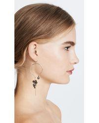 Alexis Bittar - Metallic Bead Cluster Arc Earrings - Lyst
