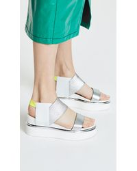 United Nude - White Rico Sandals - Lyst