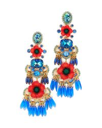 Elizabeth Cole | Multicolor Tutti Earrings | Lyst