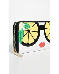 Alice + Olivia - Multicolor Candice Stace Face Long Wallet - Lyst