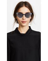 Barton Perreira - Black Fortuna Cateye Sunglasses - Lyst