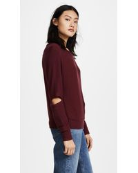 LNA - Multicolor Brushed Odeon Sweatshirt - Lyst