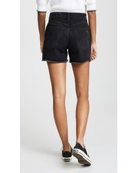 Rag & Bone Black Torti Shorts