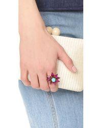 Elizabeth Cole - Multicolor Nieves Ring - Lyst
