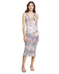 Enza Costa - Multicolor Sleeveless Ankle Length Dress - Lyst