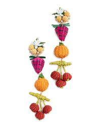 Mercedes Salazar - Multicolor Salpicon Earrings - Lyst