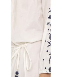 Pampelone - White Grimaud Maxi Dress - Lyst