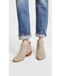 Joie - Natural Barlow Suede Booties - Lyst