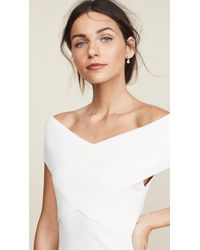 Solace London - White Adina Dress - Lyst