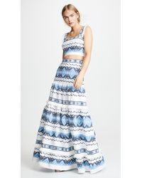 Alexis - Blue Lovissa Skirt - Lyst