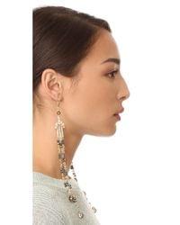 Shashi - Metallic Arabella Earrings - Lyst
