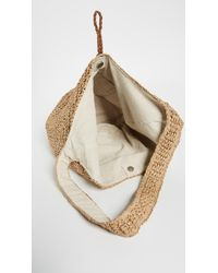 Hat Attack - Natural Toggle Sling Bag - Lyst