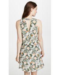 Joie - Multicolor Sabera Silk Short Dress - Lyst