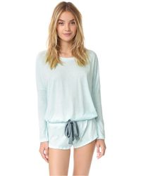 Eberjey - Blue Heather Short - Lyst
