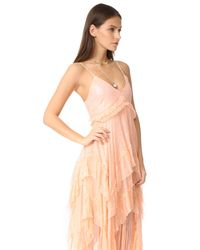Free People - Pink Midnight Rendezvous Maxi Dress - Lyst