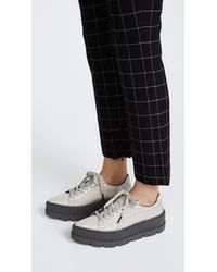 PUMA - Gray Fenty X Pointy Creeper Sneakers - Lyst
