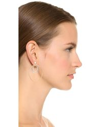 Vita Fede - Metallic Cassio Two Tone Earrings - Lyst