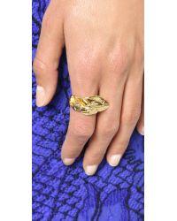 Aurelie Bidermann | Metallic Talitha Ring | Lyst