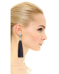 Adia Kibur - Metallic Cara Earrings - Lyst