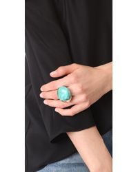 Alexis Bittar | Blue Domed Liquid Silk Cocktail Ring | Lyst