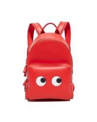 Anya Hindmarch - Red Mini Eyes Backpack - Lyst