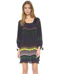 Apiece Apart | Black Sayulita Square Neck Dress | Lyst