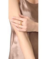 Amber Sceats - Metallic Selena Ring - Lyst